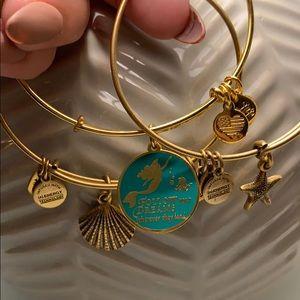 Disney Alex and Ani Little Mermaid Bracelet